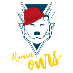 Illustration maman ours